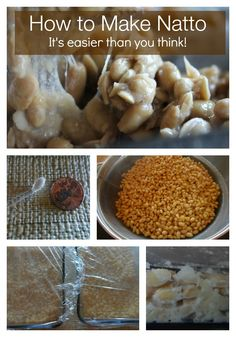 Natto is a super food. Filled with beneficial microbes! Try making it yourself with these step-by-step instructions. #natto
