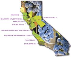 Which California Wine Region Is Your Favorite? And if you don't know, which is the most appealing to you?
