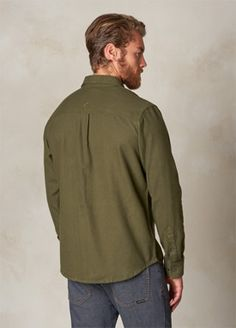 Cargo Green Woodman Flannel