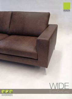 Wide   Divao / Sofa   EveryDayLiving   Ecopelle / Faux Leather