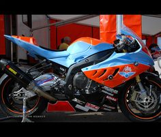 Gulf BMW Motorcycle