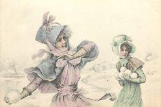 Victorian Snowball Fight! ~ (pág. 621) | Aprender manualidades es facilisimo.com