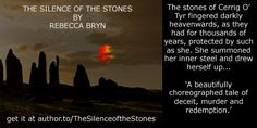 Books to read - FREE Friday 14th and Saturday 15th August THE SILENCE OF THE STONES a psychological drama set in West Wales. An eccentric old woman has cursed Alana's family to the third generation, and is casting runes to determine her next victim. Can Alana discover the meaning of thr runes carved into ancient stones in time to save those she loves? Get it free at author.to/SilenceoftheStones
