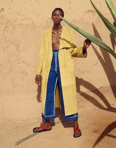 be bold: aamito lagum by mel bles for porter #13 spring / summer 2016 | visual optimism; fashion editorials, shows, campaigns & more!