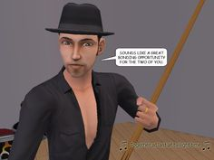 JACK: Sounds like a great bonding opportunity for the two of you.  #paranormal #psychics #reporter #investigation #missing #downtown #billiards #courtleymanor #sims2 #webcomic