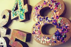 Birthday Candles, Symbols, Crafts, Painting, Manualidades, Painting Art, Paintings, Handmade Crafts, Craft