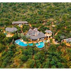 Molori Safari Lodge, Sudáfrica.