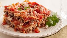 Red Gold Skinny Lasagna Recipe