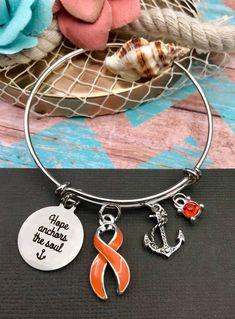 Orange Ribbon Jewelry Gifts