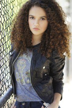 Leah (Madison Pettis) -- Gaea; when she was born, terrible earthquakes rocked the planet