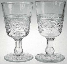Thor pressglass var i produksjon ved Hadeland Glassverk fra 1867. Øl/vinglassene i denne serien er ettertraktede og er derfor ofte priset til kr 400-500 pr. stk.
