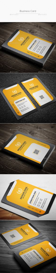 Buy Business Card by on GraphicRiver. Details Adobe Photoshop Fully Customizable and Editable Fully Layered PSD files CMYK Setting (with bleed Sample Business Cards, Vintage Business Cards, Professional Business Card Design, Luxury Business Cards, Artist Business Cards, Free Business Cards, Modern Business Cards, Business Logo Design, Print Templates