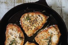 Rosemary Pork Chops. Try these with Ashlynn's Cherry Chianti Balsamic Glaze.