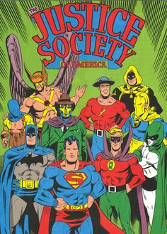 Justice Society of America by Joe Staton