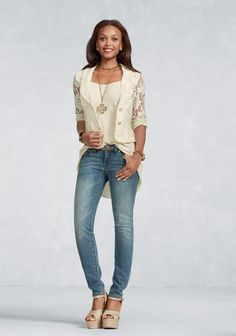 Lacy Jacket - Jackets - CAbi Spring 2013 Collection