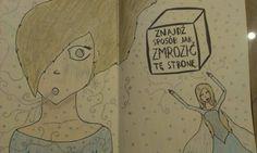 Podesłała Dominika Machowska #zniszcztendziennikwszedzie #zniszcztendziennik #kerismith #wreckthisjournal #book #ksiazka #KreatywnaDestrukcja #DIY