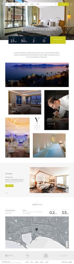 The Five Seas Hotel is a luxurious hotel in Cannes, south of France. The project…