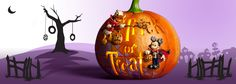Check out Disney's frighteningly fun selection of Halloween Merchandise including costumes. Shop now for Disney Halloween Merchandise at shopDisney. Disney Halloween, Happy Halloween, Disney Parks Merchandise, Very Scary, Trick Or Treat, Pumpkin Carving, Halloween Decorations, Fall, Autumn