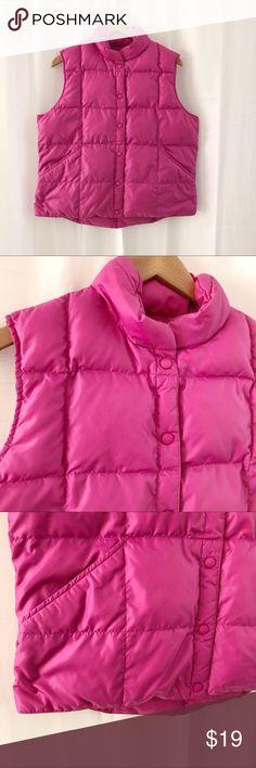 Lands End pink down puffer vest L Coming soon Lands' End Jackets & Coats Vests