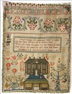 N e e d l e p r i n t: Scottish House Samplers from the Whitman Sampler Collection