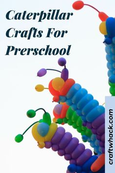 Craft Whack has searched for and found caterpillar crafts for preschool kids, and your preschooler can tackle these craft projects on his own. Children love bugs, insects, and caterpillars, and these crafts require minimal materials and are easy to make – you might even find you already have most of these supplies on hand. Create your own unique character or recreate a character from a book. Have a look at our selection and instructions here. #CaterpillarCraftsForPrerschool #CaterpillarCrafts