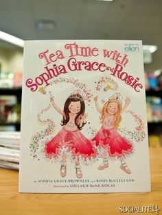 Tea Time with Sophia Grace and Rosie.      Ellen show! Love it- SheviRose