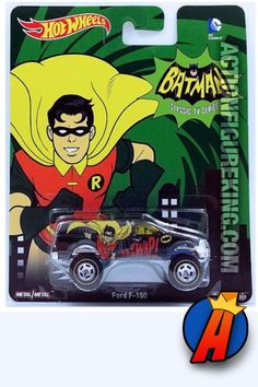 Hot Wheels Batman Classic TV Series Robin the Boy Wonder Ford Die Cast by Mattel: Hot Wheels Batman The Classic TV Series. Robin the Boy Wonder depicted on a Ford with Real Rider wheels. Happy Birthday Buddy, Robin The Boy Wonder, Batman Collectibles, Matchbox Cars, Hot Wheels Cars, Classic Tv, Diecast, Pop Culture, Tv Series