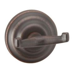 Taymor Brentwood Double Robe Hook in Aged Bronze 04-BRN6202 at The Home Depot - Mobile