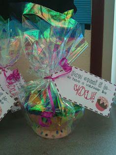 Cute volunteer gift!
