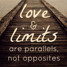 Parenting involves both love and limits, not one or the other. Great resource to help you set boundaries with your kids.