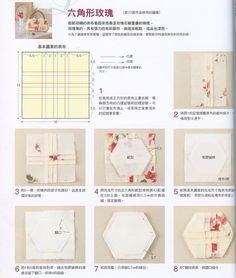 tuto rose hexagone