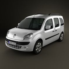 Renault Kangoo 2010 3d model from humster3d.com. Price: $75