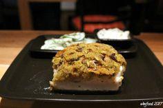 WesFood: Kabeljau mit Champignon-Kräuterkruste