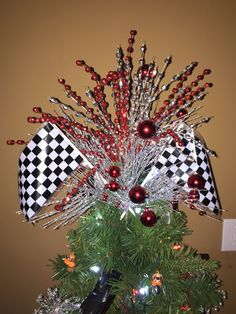 Automotive fine art studio blog our christmas tree hallmark the topper to my husbands christmas tree that is made of cars and motorcycles love how the topper turned out m4hsunfo