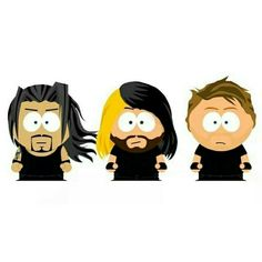 The shield:south park edition xx South Park Wrestling, Wwe Dean Ambrose, Wwe Seth Rollins, Lucha Underground, Wwe Roman Reigns, Aj Styles, Professional Wrestling, Wwe Superstars, Big Dogs