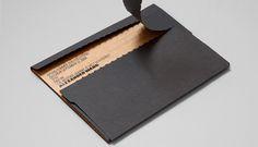 Li, Inc. Art Direction and Design #businesscards #cards #black