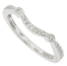 Curved Wedding Bands WB4269