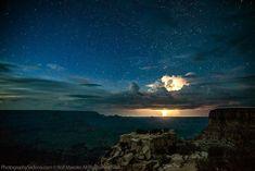Grand canyon de nuit, Rolf Maeder.