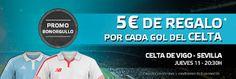 el forero jrvm y todos los bonos de deportes: suertia bono orgullo hasta 30 euros Celta vs Sevil...