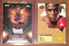 Boxing Cards 37795: Conor Mcgregor And Floyd Mayweather Jr 2999 Ufc Topps Rookie Debut Card *Rc Lot -> BUY IT NOW ONLY: $45 on eBay!