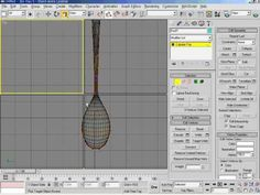 3DsMax5   20강 티스푼만들기