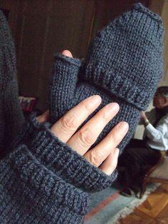 modele tricot gratuit moufle mitaine