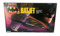 Kenner Batman: The Dark Knight Collection – Batjet - Batman, Batman: The Dark Knight Collection