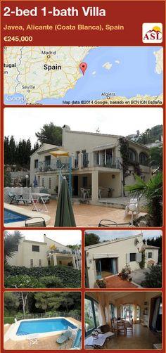 2-bed 1-bath Villa in Javea, Alicante (Costa Blanca), Spain ►€245,000 #PropertyForSaleInSpain