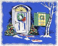 Pretty and bright Christmas crib.
