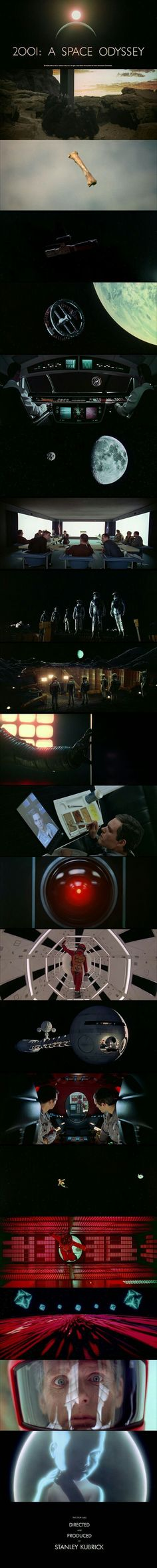 2001:A Space Odyssey (1968) Written and Directed by Stanley Kubrick.