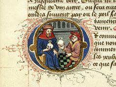 *Name:Pierpont Morgan Library. Manuscript. M.165.*Title:Fol. 005r, Creation Scene.*Published/Created:France, perhaps Rouen, ca. 1440-1450