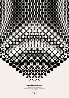Blend Experiment Poster - Graphic work -Áron Jancsó