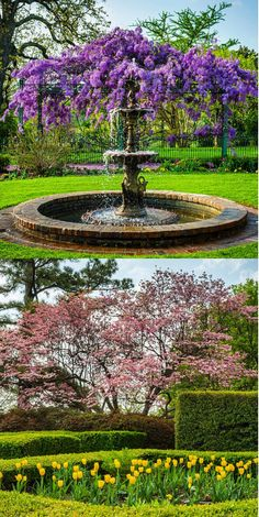 The Gilcrease Museum in Tulsa, Oklahoma has an extensive collection of American and Western art as well as 11 gardens that are absolutely breathtaking during spring.