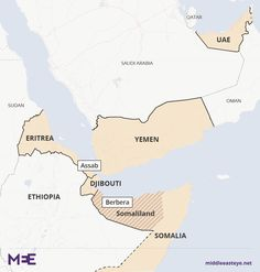 Somaliland would be the second military base after the UAE facility in Eritrea, which has been used against the Houthis in Yemen